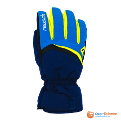 Перчатки горнолыжные REUSCH 2020-21 Balin R-Tex® XT Imperial Blue/Neon Yellow 8""