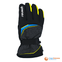 Перчатки горнолыжные REUSCH 2020-21 Primus R-Tex® XT Black Melange/Safety Yellow/Brilli 10""
